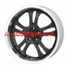 5/114,3/8,5x20 AMERICAN RACING 72,62/35 AR393 Black/Machined