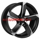 5/120/9x20 FONDMETAL 74,1/45 7900 Matt Black Polished