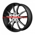 5/114,3/8,5x20 AMERICAN RACING 72,62/38 AR897 Black/Machined