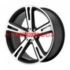 5/112/10x20 AMERICAN RACING 72,62/38 AR885 Black/Machined